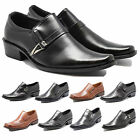 MENS FORMAL SMART OFFICE SLIP ON WEDDING SHOES ITALIAN DRESS WORK BOYS PARTY UK