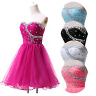 Sweetheart Homecoming Prom Gowns Cocktail Evening Party Dancing Bridesmaid Dress