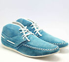 MENS SUEDE MOCASSIN LACE UP DESERT BOOT BOAT LOAFERS ANKLE DESERT TRAINERS SHOES