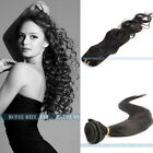 12''-28'' Remy Virgin Wave Straight 100% Human Hair Weaving Weft Extensions 50g