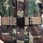 Men's Canvas Military Camo Belt Boys Outdoor Combat Training Waist Straps GB07