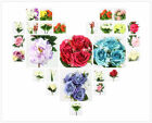 Beautiful Cute DIY Various Kinds Of Silk Flowers Home Wedding Party Floral Decor