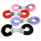 Stylish Sexy Furry Fuzzy Handcuffs Soft Metal Adult Hen Night Party Game Gift