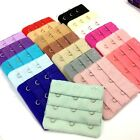 10 Colors Bra Extender Strap Extension 3 Hooks Supplies Replacement Bra Hook 3pc