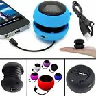 3.5mm SPEAKER FOR SAMSUNG MOBILES ROUND HAMBURGER STYLE WITH MINI USB DATA CABLE