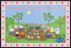 "PEPPA PIG - FRAMED TV SHOW POSTER / PRINT (MUDDY PUDDLE) (SIZE: 36"" X 24"")"