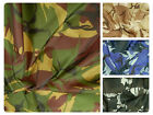 "Camo Ripstop Army Military Camouflage Fabric Material -59""/150cm wide - Rip-Stop"