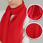 100% pure silk chiffon and charmeuse fabric ,red color