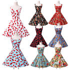 VINTAGE 50/60's PINUP ROCKABILLY SWING BALL PROM PARTY DANCING Rock STRAPS DRESS