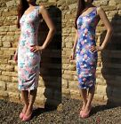 Midi Length Vest Dress Summer Beach Sizes 8-18