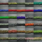Natural Gemstones 2mm & 3mm Round Spacer Seed Beads 15.5'' Jewelry Design Crafts