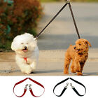 EZI - Double Dog Twin Strong Multicolor Lead Two Pet Dogs Walking Leash Safety