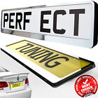 CAR Number Plate  Holder SURROUNDS FUNERAL FUNERALS LIMO LIMOUSINE SPECIAL DAY