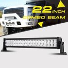22INCH 24INCH 200W LED LIGHT BAR SPOT FLOOD COMBO WORK 4WD UTE OFFROAD SUV ATV