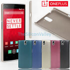 Ultra-Thin Abrasion Proof Hard Back Cover Case Shell for OnePlus One 1+ A0001