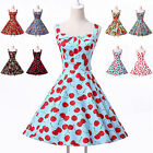 2014❤Promotion❤New Vintage 50s 60s Rockabilly Swing Cocktail Party Wedding Dress