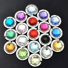 New Fashion Crystal Alloy Folding Purse Handbag Bag Hook Hanger Holder 18 Colors