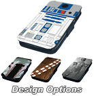 Star Wars Inspired Printed Faux Leather Flip Phone Cover Case