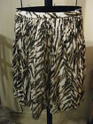 WOMANS ANIMAL PRINT COTTON PLEATED SKIRT TALBOTS PLUS & PETITE PLUS 20WP $109