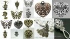 Filigree Metal Pendants Large Charms Various Styles Available