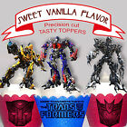 Transformers birthday party 15 EDIBLE wafer Cupcake Toppers PRECUT cup cake