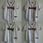 New Extremely Rare True Vintage baseball style jersey Embroidery button front