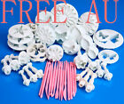 50pcs Sugarcraft Cake Decorating Fondant Icing cookie Plunger Cutters Tools Mold