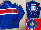 M or XL ADIDAS FRANCE ORIGINALS TT TRACK JACKET football soccer ZIP POCKETS NEW