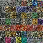 Wholesale Mixed Natural Gemstone Round Spacer Beads 4mm 6mm 8mm 10mm 12mm Pick