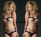 LEPEL Charlotte Longline Padded Bra + Mini Brief New Sizes 32 34 36 38 A-E 10-18