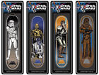 STAR WARS SANTA CRUZ SKATEBOARD DECK COLLECTION LUKE, CHEWY,DROIDS,STORMTROOPER