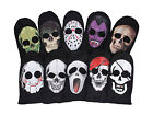 1Pc Unisex 2 hole face mask skull knit Cap Halloween Cosplay Prarty Warm Hat