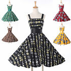 NEW Vintage 1950s 60s Audrey Hepburn Swing Rockabilly Pinup Evening Party Dress