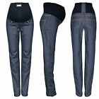 NEW Maternity Skinny Straight Leg Jeans Over Bump Size 6 8 10 12 14 16 18