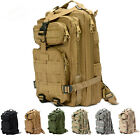 25L Outdoor Military Tactical Backpack Camping Bag Trekking Rucksacks Bag HB121
