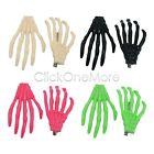 EZI - Creepy Skeleton Hand Hair Clip Goth Kawaii Emo Halloween Fancy Dress Party