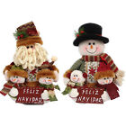 10'' Snowman Family Decoration Ornaments Gift for Christmas Season Free Shipping