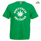 CANNABIS STAG DO TSHIRT Custom Printed Personalised Name And Number