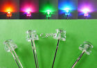 50pcs Straw Hat 5mm 8mm White Blue Green Yellow Purple LED Light Emitting Diode