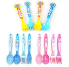 Robocar Poli Spoon Fork Set 4 Pcs Kids Animation Characters Tableware Set