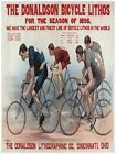 7292.The donaldson bicycle lithos.bicyle rance.men racing.POSTER.art wall decor