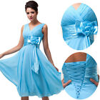 NEW 40% OFF~Women Chiffon Evening Formal Prom Gown Party Bridesmaid Short Dress