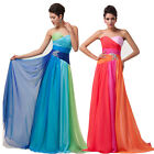 ❤2014 Salable❤Colorful Long Wedding Gown Evening Prom Cocktail Party Dress 6~20
