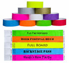 Custom Printed Tyvek Wristbands Event Security Admission Wristband - Purple