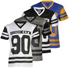 MENS MY FASHION WORLD CASUAL PRINTED BASKETBALL DESIGN T-SHIRT TOP SIZE S-XXL