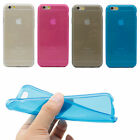"""Crystal Transparent Matte Clear Soft TPU Gel Case Cover For Apple iPhone 6 4.7"""""""