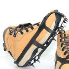 New 18 Teeth Sport Climbing Ice Snow Spike Anti Slip Shoes Covers Crampons T143