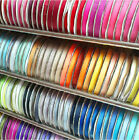 """25Yards Grosgrain Ribbon - 10mm (3/8"""") width - Various Colours - Free Shipping"""