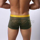 Promotion~ HOT Sexy Men's Underwear See-Through Shorts Briefs Bottom Home Pants