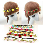 Lady Girl Boho Floral Flower Headband Wedding Beach Party Hairband Headdress